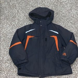 ZeroXposur 4 in 1 Winter Jacket Zip-On Hood L boy
